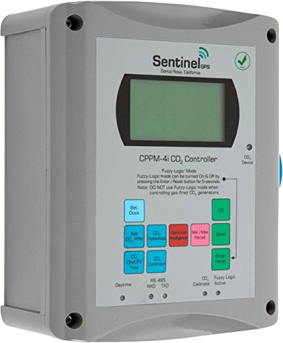 Controller Ppm Co2 (Sentinel GPS CPPM-4i CO2 Controller Fuzzy Logic Photocell PPM Monitor Regulator)