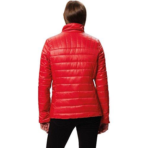 Regatta Tibetan Red Insulated Jacket Printed Water Iii Women's Icebound Repellent Lightweight FwZFrq1
