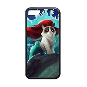 CSKFUCTSLR Laser Technology Grumpy Cat TPU Case Cover Skin for Cheap phone iphone 6 4.7 inch iphone 6 4.7 inch-1 Pack- Black - 5