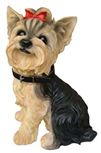Amazon.com : Yorkie Terrier Dog Indoor Outdoor Statue