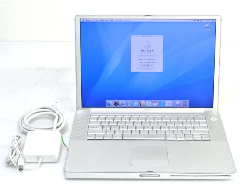 Apple PowerBook G4-1.5GHz 512MB 80GB -RW AirMAC 15.4TFT