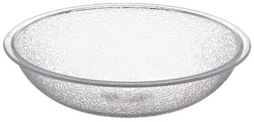 Carlisle 720607 Round Pebbled Bowl, 19.2 oz, Clear ()