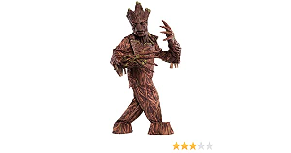 Adult Groot Creature Reacher Fancy Dress Costume Standard: Amazon ...