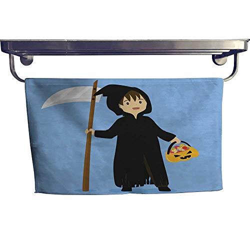 Suchashome Beach Towels Halloween Grim Reaper Costume Vector