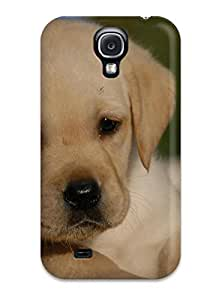 Andguyen QZlubwt2018YFQdn Case For Galaxy S4 With Nice Labrador Retriever Puppies Appearance by mcsharks