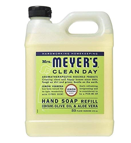 Mrs. Meyer's Clean Day Liquid Hand Soap Refill, 33 oz (Lemon Verbena, Pack - 1) ()