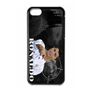 High Quality Phone Case For Iphone 5c -Sport Real Madrid Club de Futbol Cristiano Ronaldo Print 2D Hard Shell Cover -LiuWeiTing Store Case 15