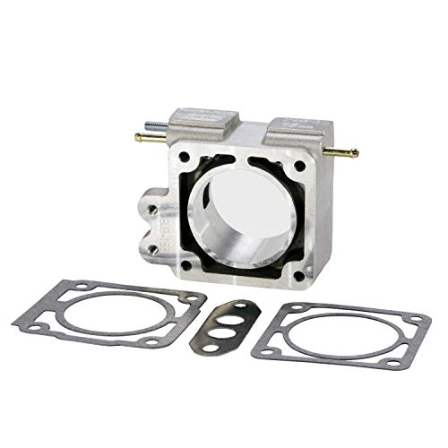BBK 1502 70mm Throttle Body EGR Spacer Plate - High Flow Power Plus Series for Ford Mustang 5.0L