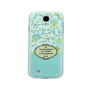 JJE Small Blue Flowers Pattern Hard Case for Samsung Galaxy S4 I9500