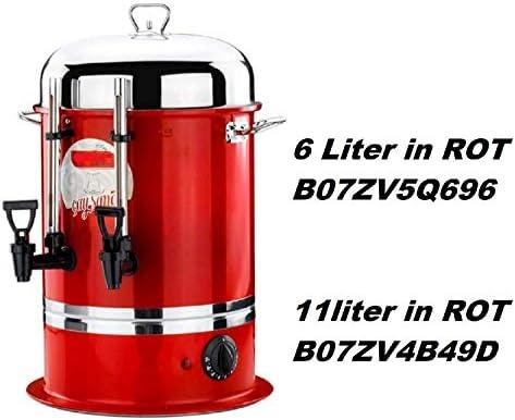 BEEMSAMOVAR 3l Teiera Bollitoreteemaschine ACCIAIO INOX 2200w acqua calda donatore