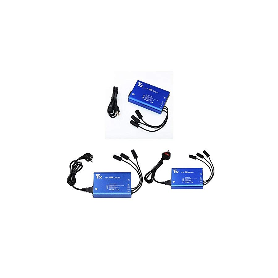 5 in 1 Rapid Intelligent Multi Battery Charger Hub for XIAOMI MI Drone Quadcopter