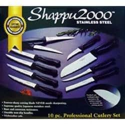 Shappu Royale 12 Pc Cutlery Set W Butcher