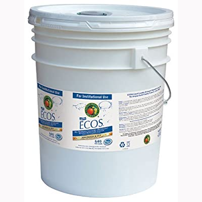 Ecos Liquid Laundry Detergent Magnolia and Lily,5 gallon pail -- 1 each