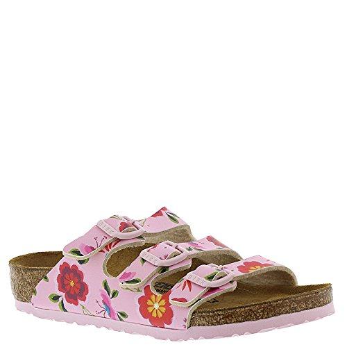 Birkenstock Kids Florida Flowers Pink Birko-Flor 31 (13-13.5 US N Little -