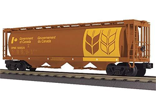 (O Gauge RailKing 4-Bay Cylindrical Hopper Car)