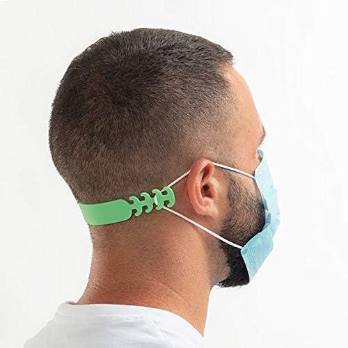 Pack de 5 salvaorejas Sujeta mascarillas para orejas lavable reutilizable