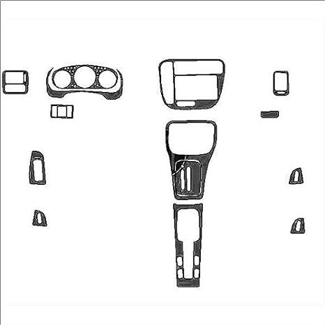 Amazon.com: HondaCivic99-00 MimoUSADash Trim Kits Mimo-0331A ...