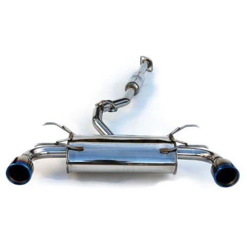 Invidia (HS12SSTG3T) Q300 Cat-Back Exhaust System with Titanium Rolled Tip for Subaru BR-Z/Scion FR-S ()