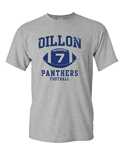 Dillon 7 Football Retro Sports Novelty DT Adult T-Shirt Tee (Small, Sports - Shirts Shirt Retro Football