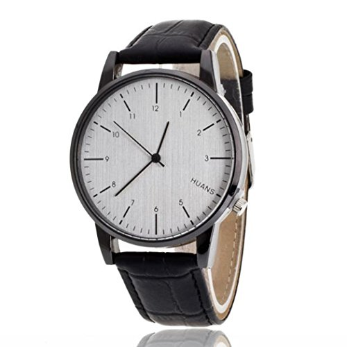 a4ac6d5ab96 Mens Quartz Watch COOKI Clearance on Sale Unique Analog Cheap Watches  Leather Wrist Watches for Men
