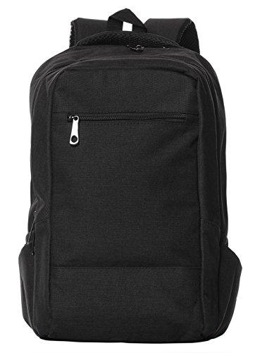 Laptop Backpack College School Large Travel Bag Fits Up To 15.6-Inch Laptop Black (Giant Messenger Bag)
