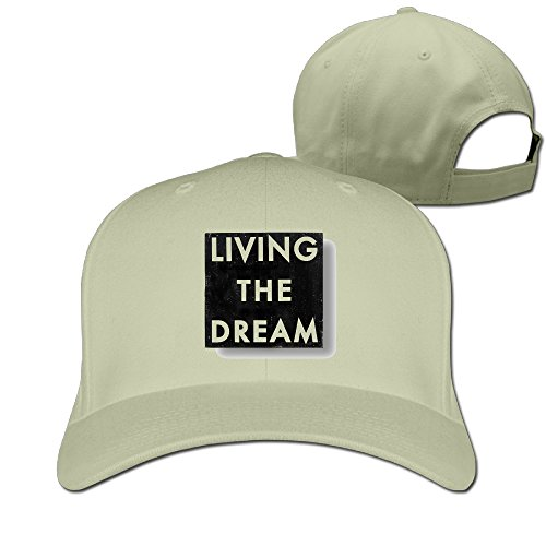 Jiangkang Living The Dreams Unisex Style Funny Adjustable Baseball Cap Multi Colors (Ellis Outdoor Living)