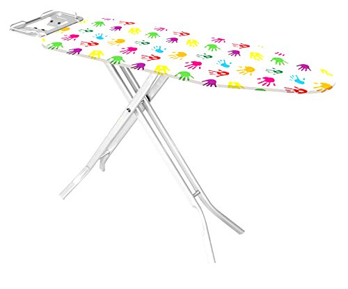Uniware Turkey Ironing Board With Iron Rest, Large (Hand Print , 47 Inch)
