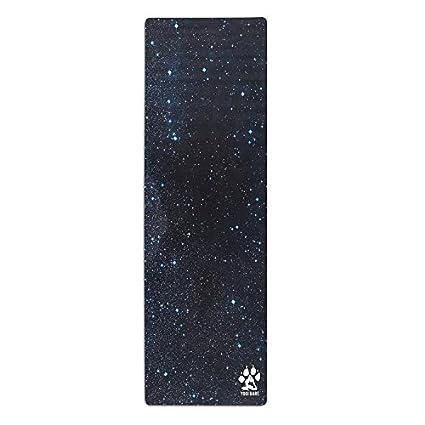 Yogi Bare Teddy Esterilla de yoga híbrida y ecológica - Antideslizante, de caucho natural y con superficie de microfibra