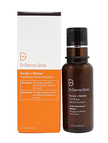 Dr. Dennis Gross Ferulic Plus Retinol Fortifying Neck Emulsion, 1.7 Fluid Ounce