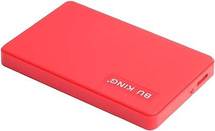 kokiya 120G外付けUSB3.0 HDDプラグアンドプレイ高速に適用ラップトップデスクトップPC赤