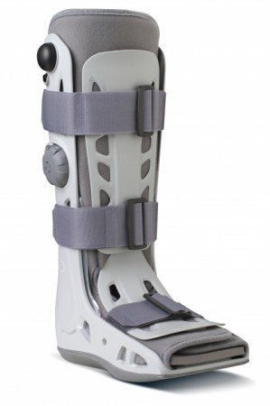 DJO Aircast AirSelect Standard Air Walker Boot Medium Hook and Loop Closure Female Size 8 - 11 / Male Size 7 - 10 Left or Right Foot - Qty : (Airwalk Boot)