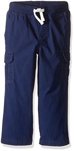 Carter's Boys' Woven Pant 248g288, Navy, 4T - Carters Woven Pant