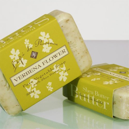 L'Epi de Provence Shea Butter French bath Soap - Verbena Flower - 7 oz.