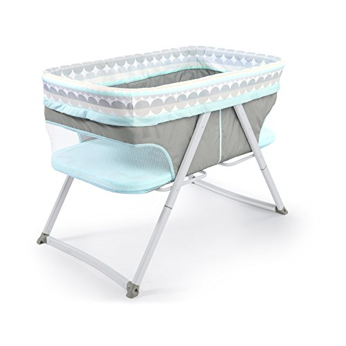 Ingenuity Foldaway Rocking Bassinet - Juniper - Portable Folding Rocking Bassinet ()
