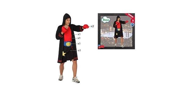 DISFRACES GILMAR Disfraz de Boxeador Adulto - M/L: Amazon.es: Ropa ...
