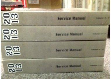 2013 Chevrolet Chevy IMPALA Service Shop Repair Manual Set FACTORY BOOK OEM 13