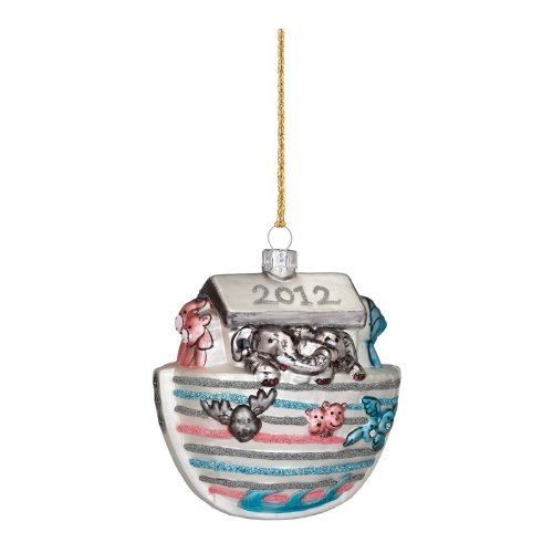 Waterford Marquis 2012 Baby's First Christmas Blown Glass Ornament