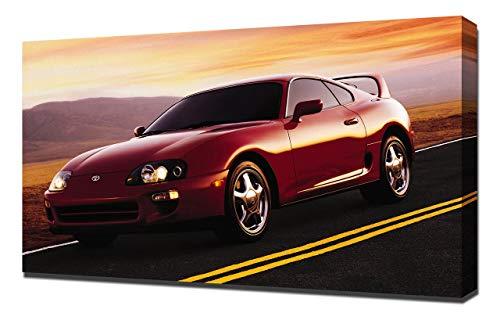 Lilarama USA 1997-Toyota-Supra-V1 Canvas Art Print - Wall Art - Canvas -