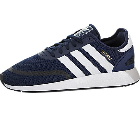 adidas Originals Men's Iniki Runner CLS Running Shoe, Collegiate Navy/White/core Black, 13 M US