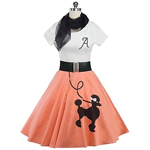50s print dresses - 4