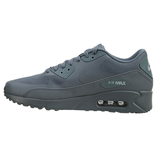 Nike Herren Air Max 90 Ultra 2.0 Essentieel Turnschuhe, Schwarz Grau (cool Grey / Cool Grey / Cool Grijs / Wolf Grijs 003)