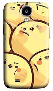 Samsung Galaxy S4 I9500 Hard Case - Cute Little Yellow Chicken Galaxy S4 Cases