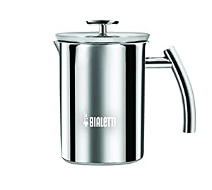 Bialetti Cappuccinatore - Manual Milk Frother - Easy to Use and Dishwasher Safe - 3 Cup - Various Materials by Bialetti