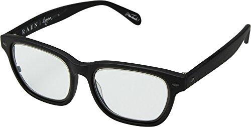 RAEN Optics Unisex Lyon Matte Black/Clear Ar One - Zeiss Sunglasses