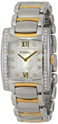 """EBEL Women's 1215781 """"Brasilia"""" Stainless Steel Two-Tone Watch"""