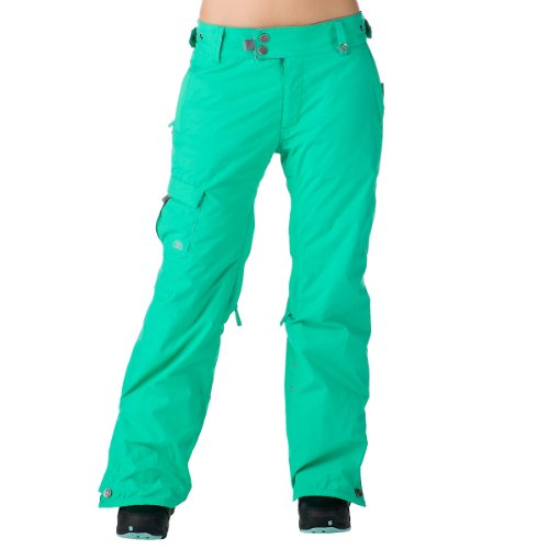 686 Mannual Steady Insulated Womens Snowboard Pants 2012 - Size:Large-Seafoam