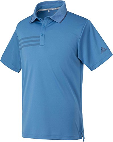 (adidas Golf(アディダスゴルフ) adidas Golf(アディダスゴルフ) CP 3ストライプ ショートスリーブ メッシュポロ