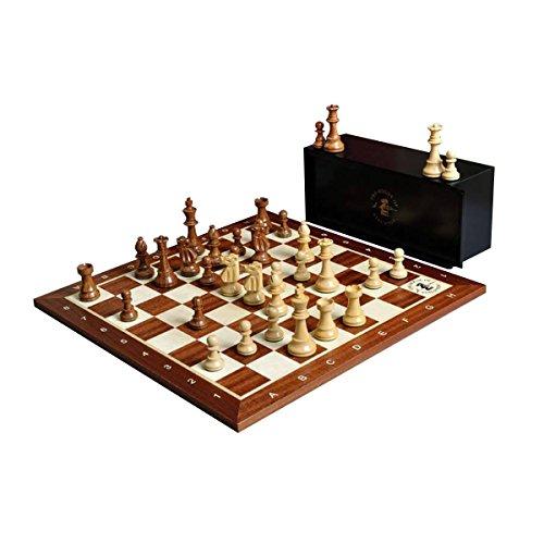 The Club Series Chess Set, Box, Board Combination