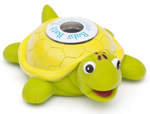 B003ZFPRHS Turtlemeter, The Baby Bath Floating Turtle Toy and Bath Tub Thermometer 412BskN5wzbL