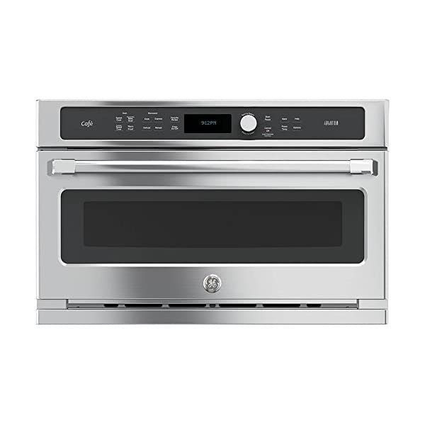 GE CSB9120SJSS Cafe Advantium 30″ Stainless Steel Electric Single Wall Oven...